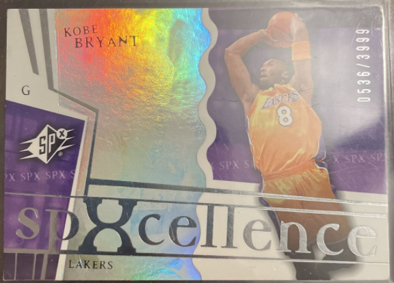 2003-04 SPx SPXcellence Kobe Bryant #92 (/3999)