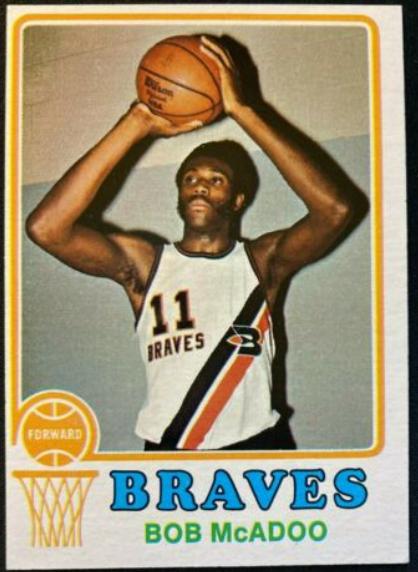 1973-74 Topps #135: Bob McAdoo Rookie Card