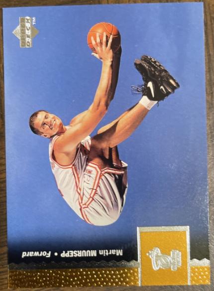 1996-97 Upper Deck #245: Martin Muursepp