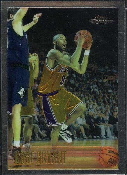1996-97 Topps Chrome #138: Kobe Bryant Rookie