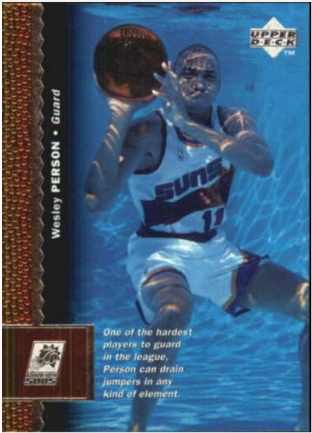1996-97 Upper Deck #281: Wesley Person