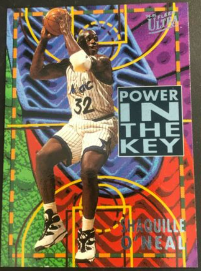 1994-95 Fleer Ultra Power in the Key #7: Shaquille O'Neal