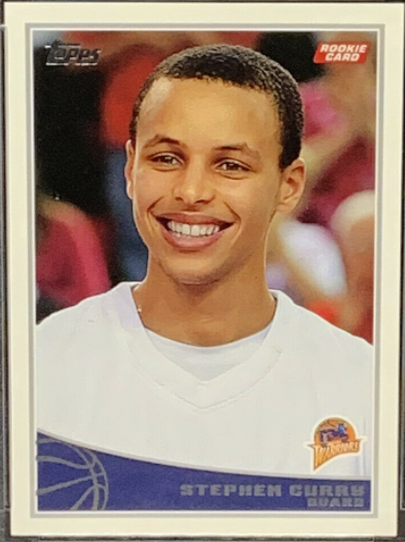 2009-10 Topps Stephen Curry Rookie (#321)