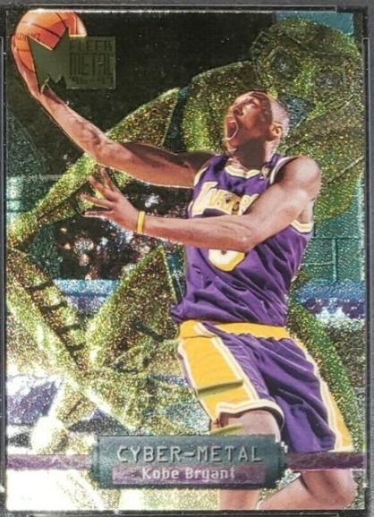1996-97 Fleer Metal Cyber-Metal #5: Kobe Bryant Rookie