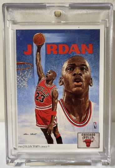 1991 Upper Deck Michael Jordan #75 in One-Touch Holder