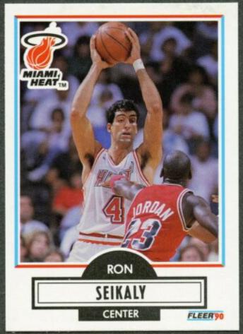 1990-91 Fleer Rony Seiklay Error Card (#102) featuring Michael Jordan