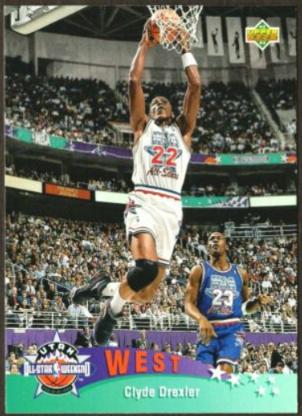 1992-93 Upper Deck All Star Clyde Drexler (#438)