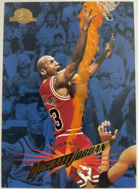 1995-96 Skybox Premium Michael Jordan #15 (front)
