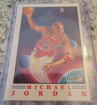 1991 Fleer Michael Jordan Pro-Visions #2