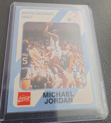1989 Collegiate Collection Michael Jordan #18 UNC vs Duke