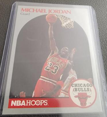 1990 Hoops Michael Jordan #65