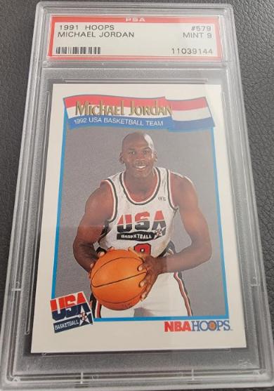 PSA 9 1991 Hoops Michael Jordan #579