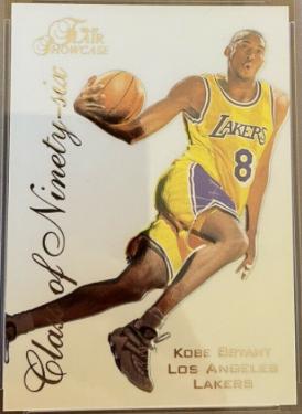 1996-97 Flair Showcase Class of Ninety-Six Kobe Bryant (#4)
