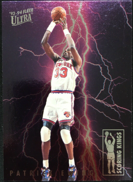 1993-94 Fleer Ultra Scoring Kings Patrick Ewing #3