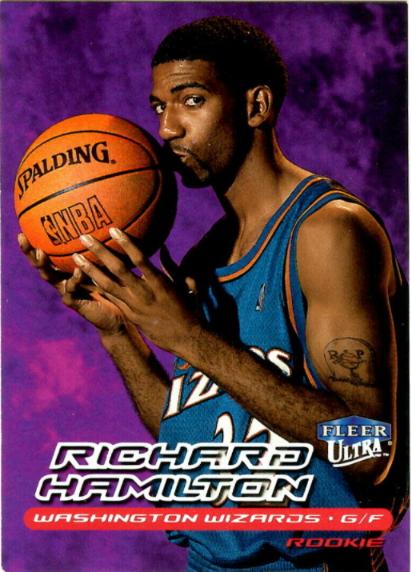 1999-2000 Fleer Ultra Richard Hamilton Rookie #129