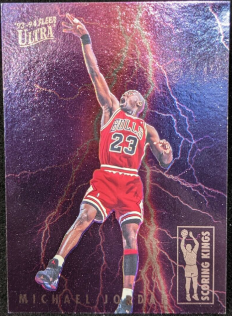 1993-94 Fleer Ultra Scoring Kings Michael Jordan #5