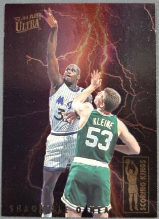 1993-94 Fleer Ultra Scoring Kings Shaquille O'Neal #8