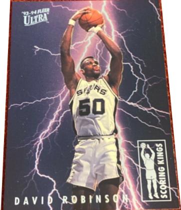 1993-94 Ultra Scoring Kings David Robinson #9